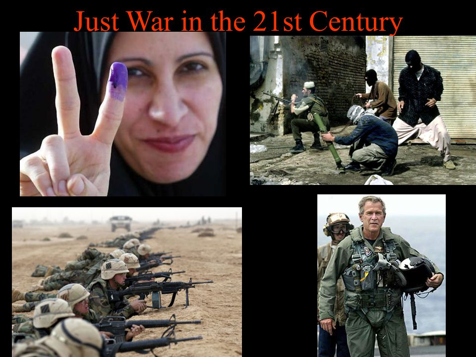 Just War in the 21st Century