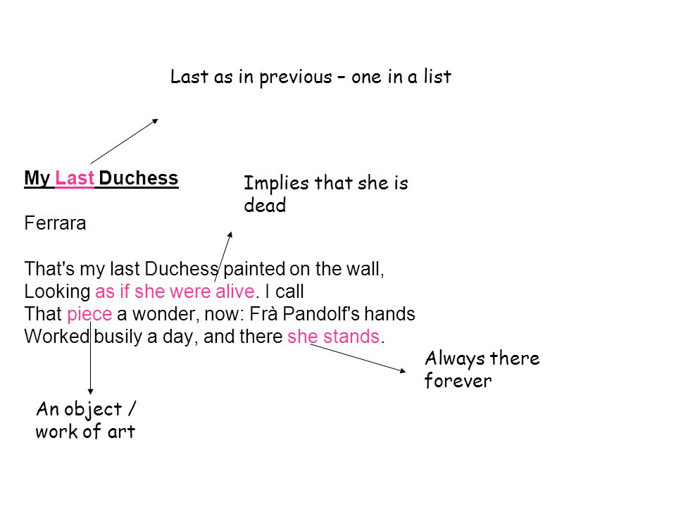 the last duchess analysis line by line