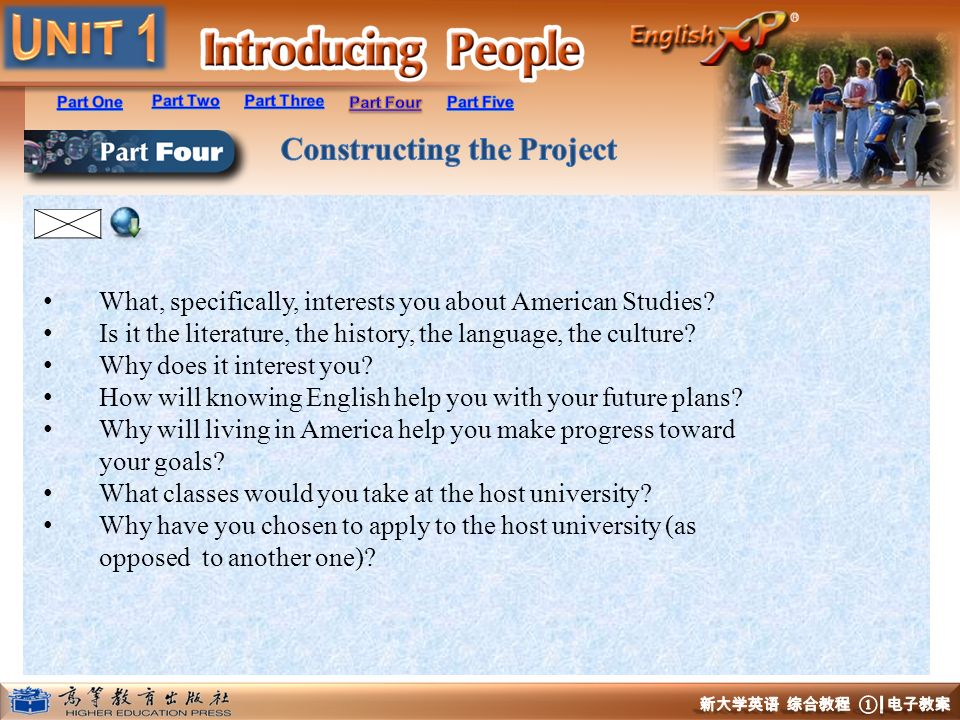 What, specifically, interests you about American Studies