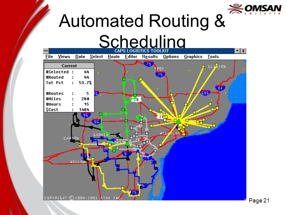 Automated Routing & Scheduling
