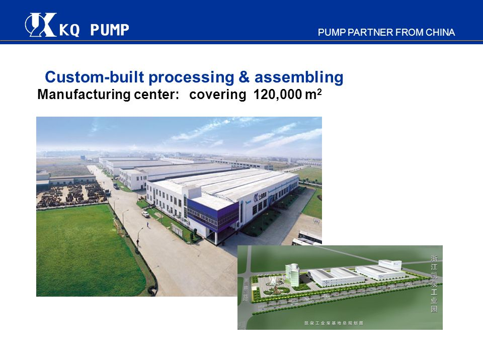 Custom-built processing & assembling