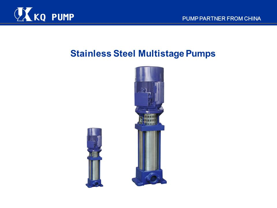 Stainless Steel Multistage Pumps