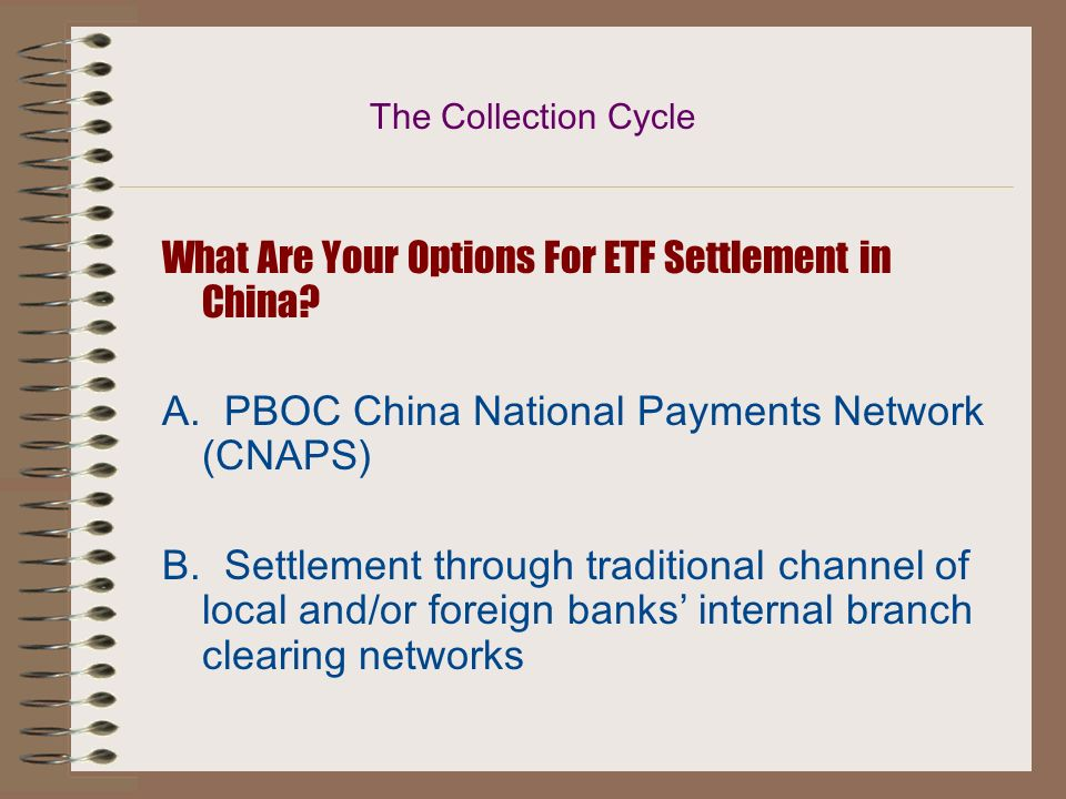 What Are Your Options For ETF Settlement in China