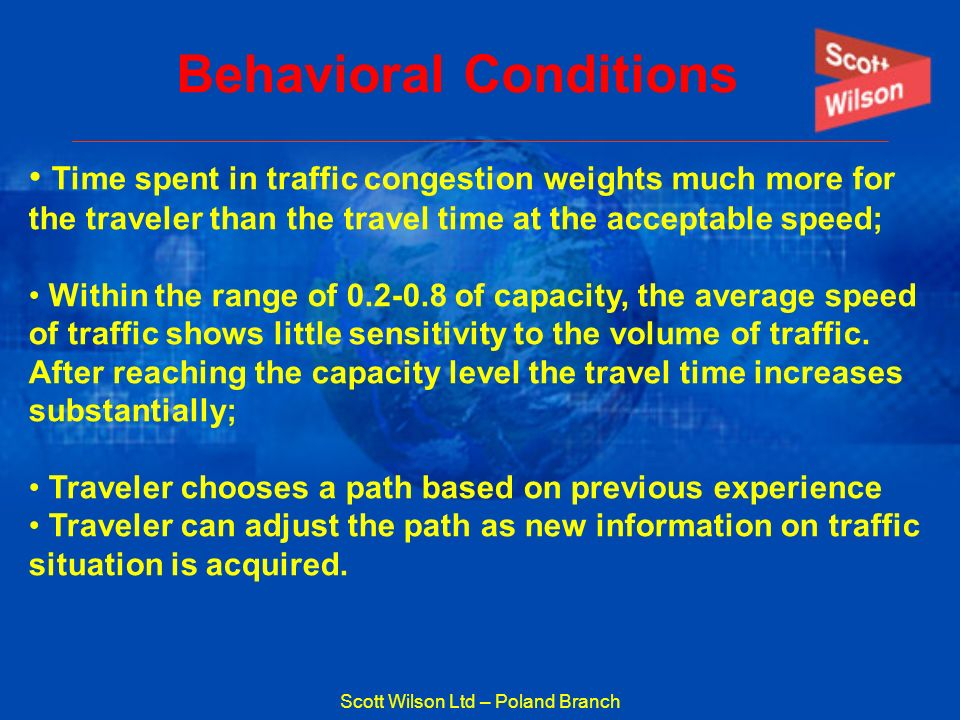Behavioral Conditions