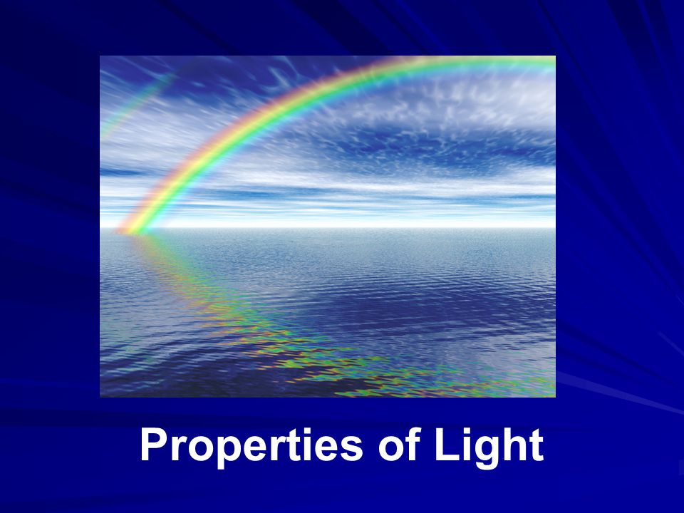 Presentation for lesson 3: Light Properties, in the Waves: The Three Color Mystery unit