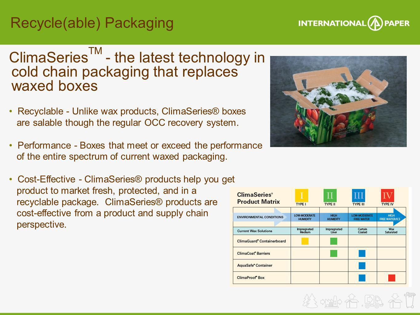 Recycle(able) Packaging