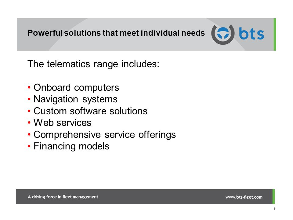 Powerful solutions that meet individual needs