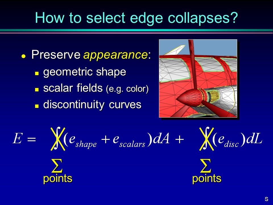 How to select edge collapses