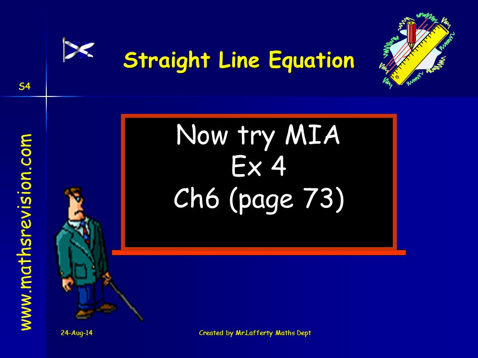 Straight Line Equation