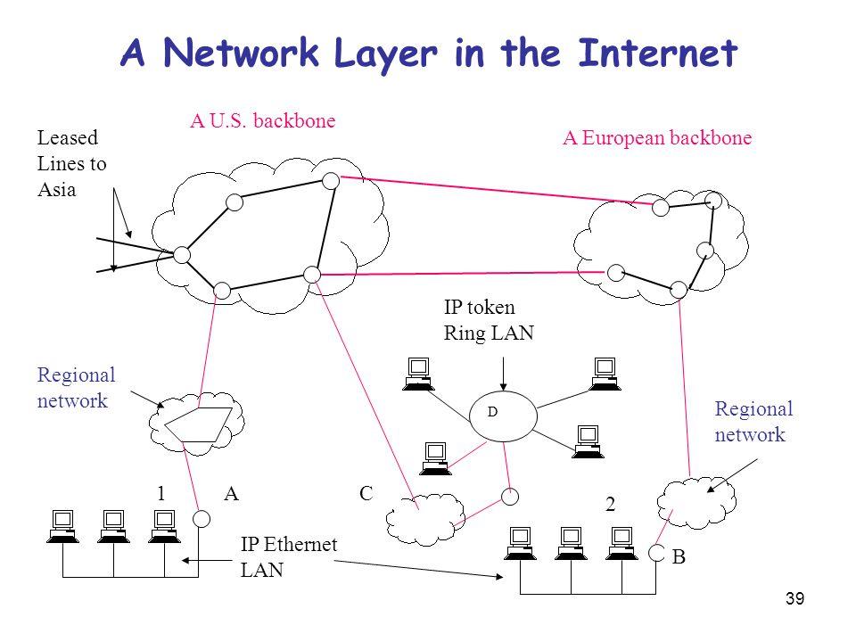A Network Layer in the Internet