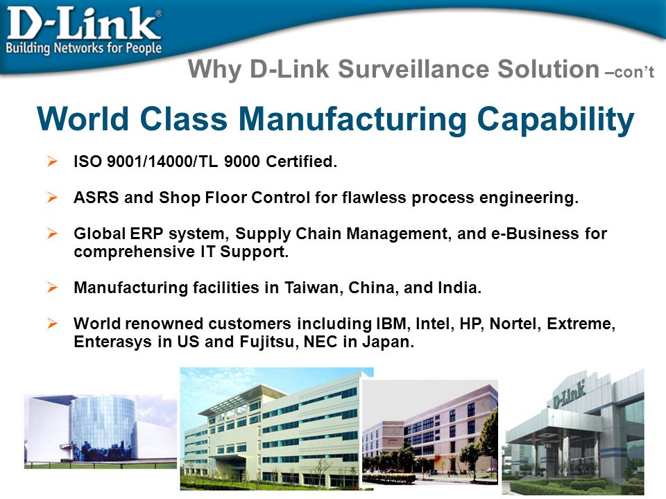 World Class Manufacturing Capability
