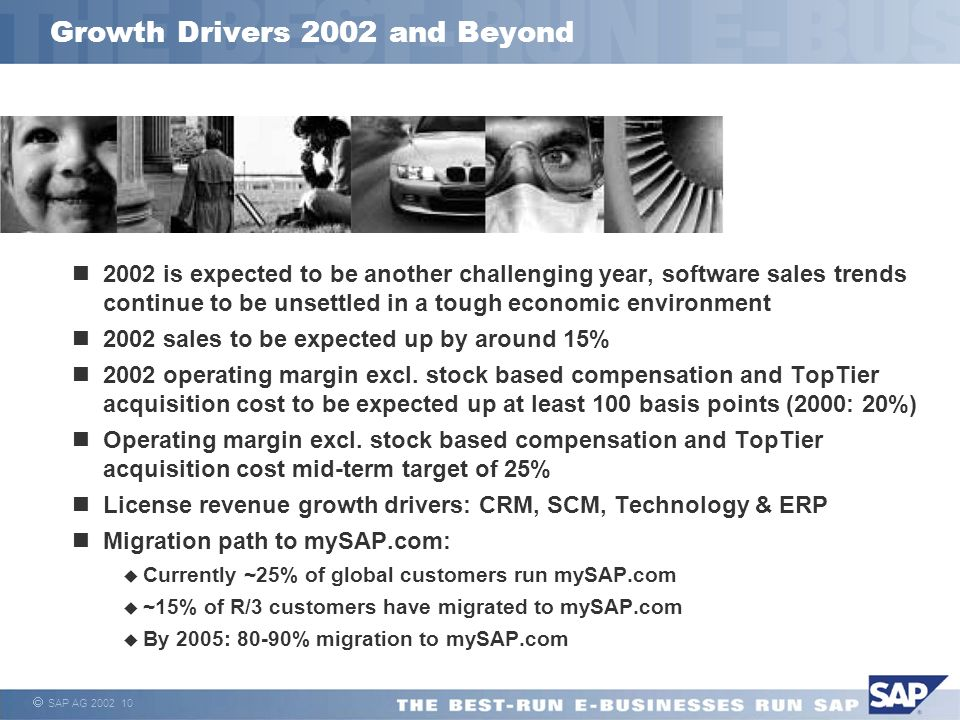 Growth Drivers 2002 and Beyond