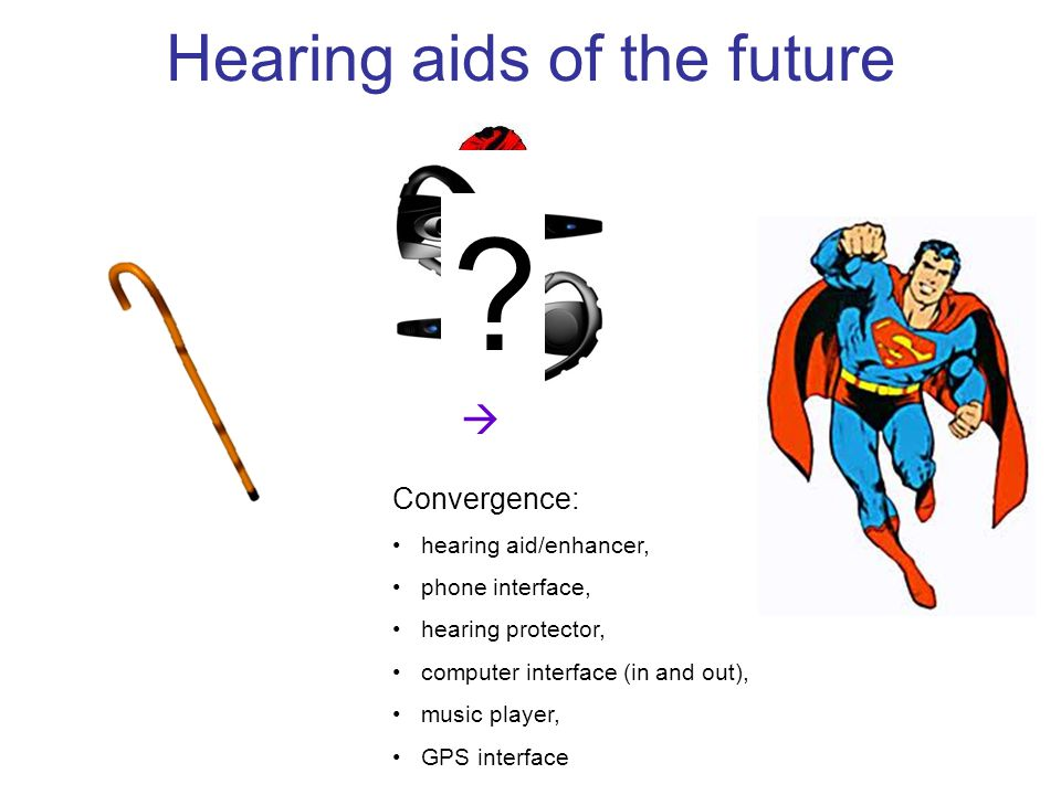 Hearing aids of the future