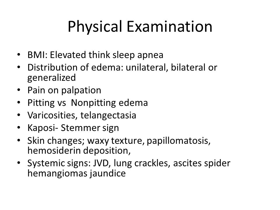EVALUATION OF LOWER EXTREMITY SWELLING - ppt video online