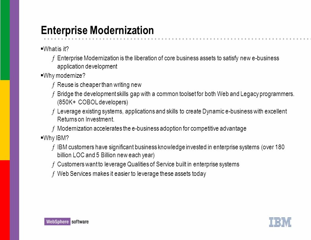 Enterprise Modernization