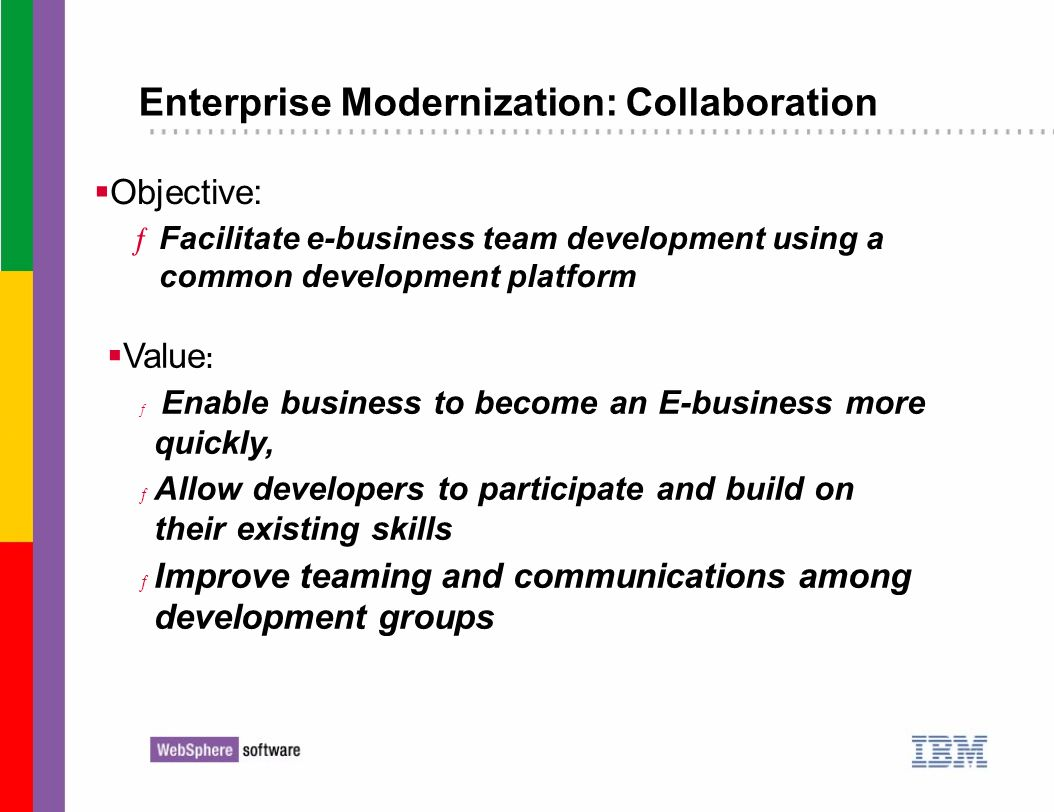 Enterprise Modernization: Collaboration