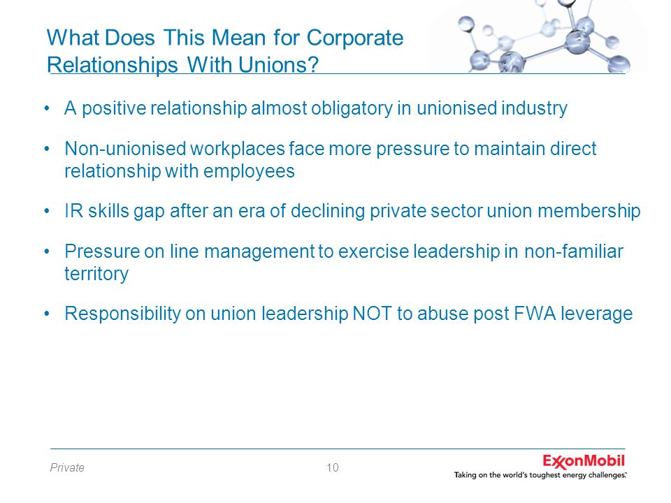 What Does This Mean for Corporate Relationships With Unions