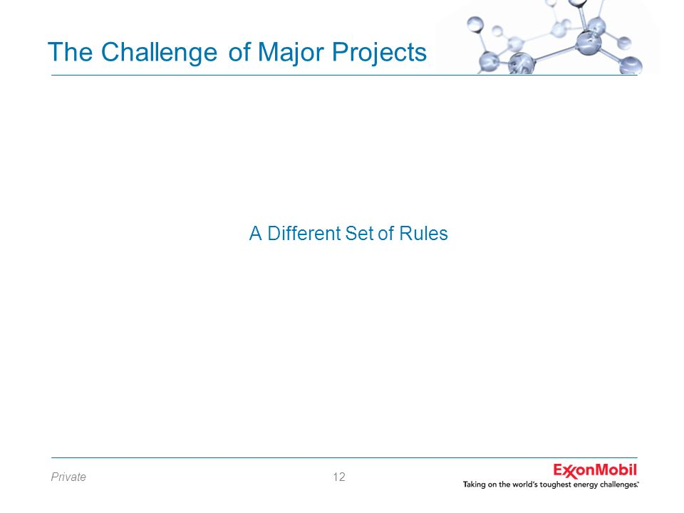 The Challenge of Major Projects