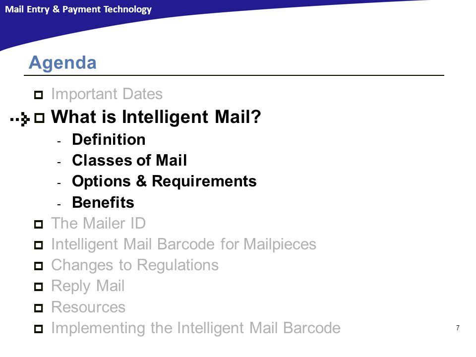 What is Intelligent Mail