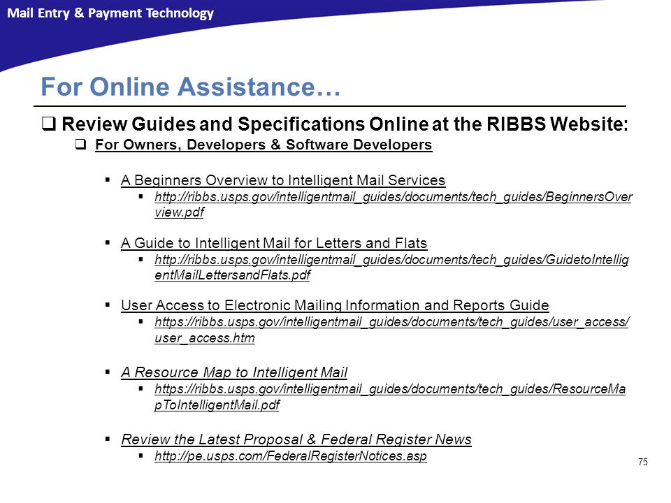For Online Assistance…