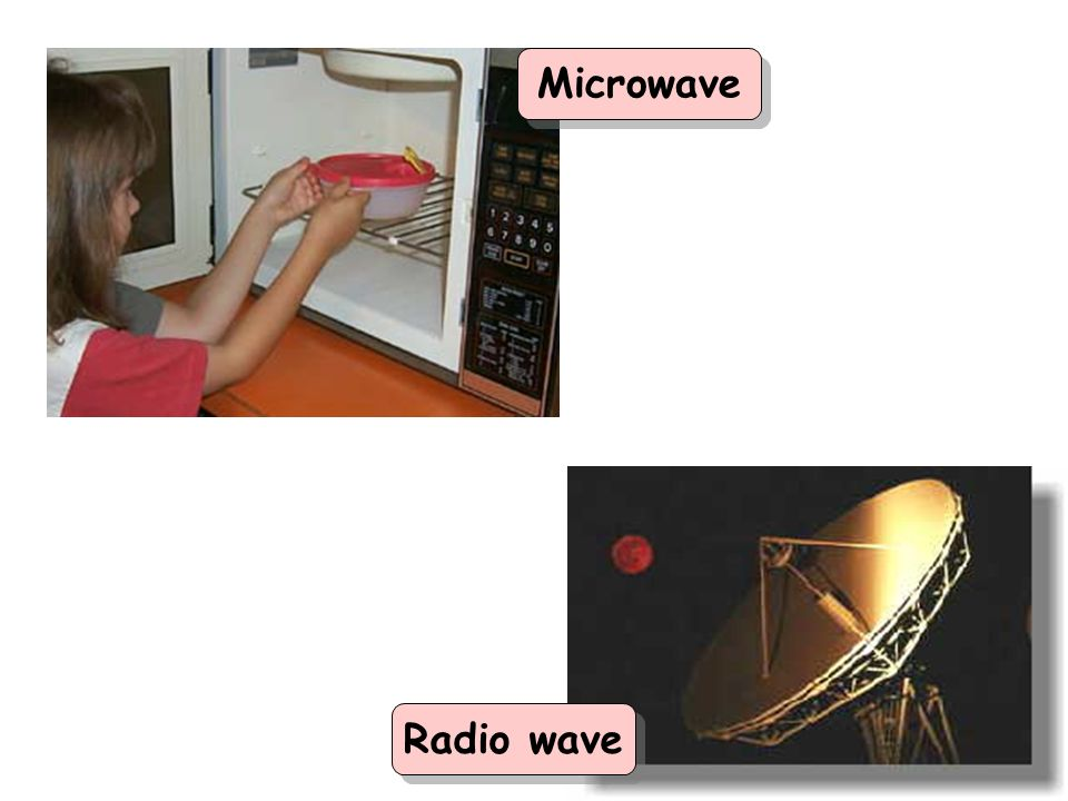 Microwave Radio wave