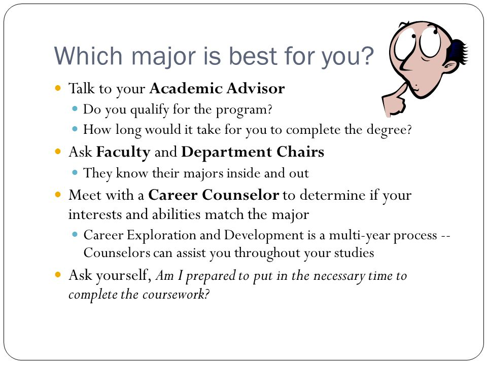 Which major is best for you