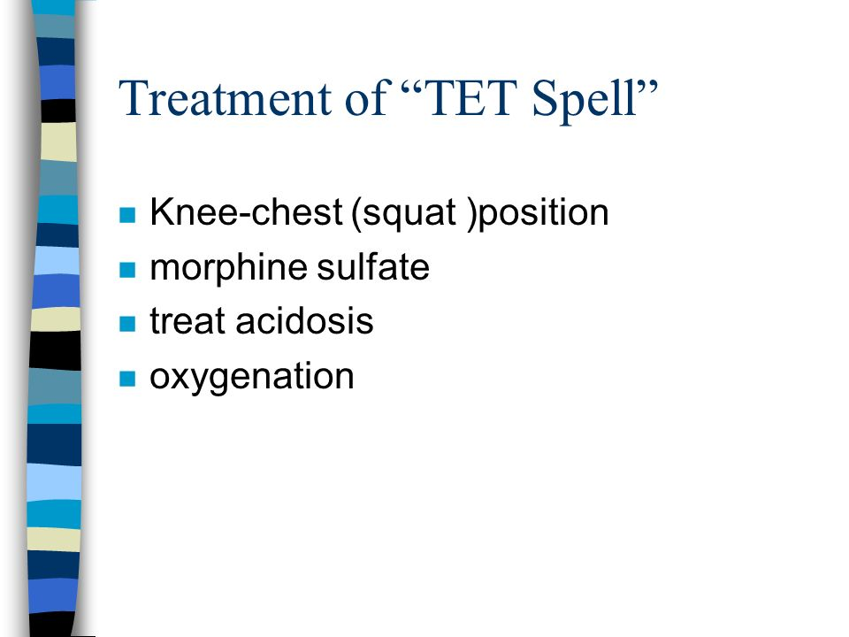 Treatment of TET Spell