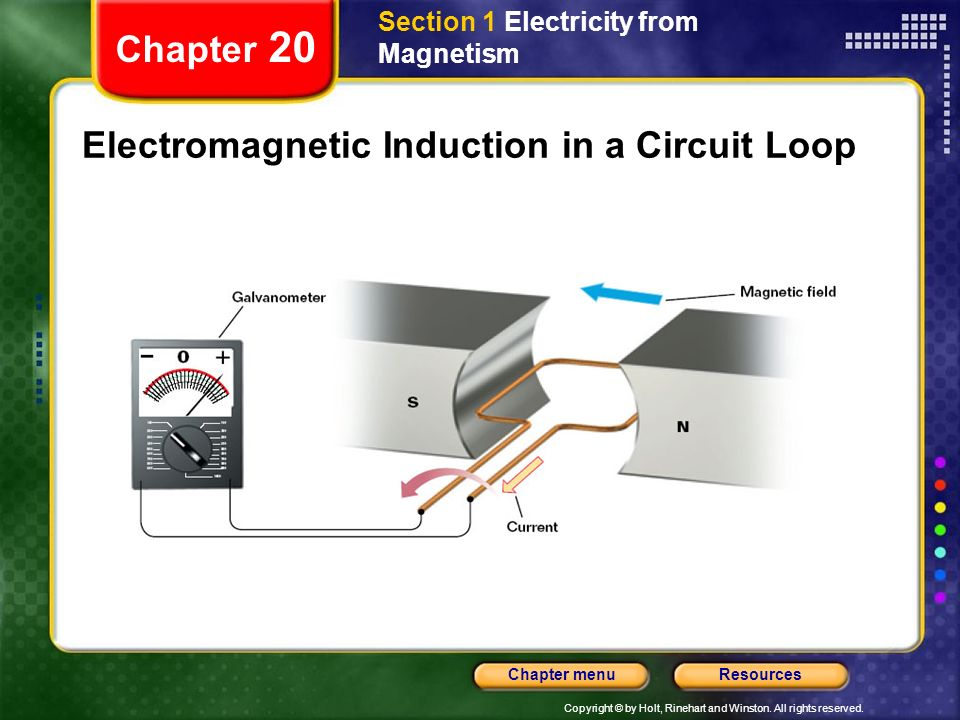 Electromagnetic Induction in a Circuit Loop