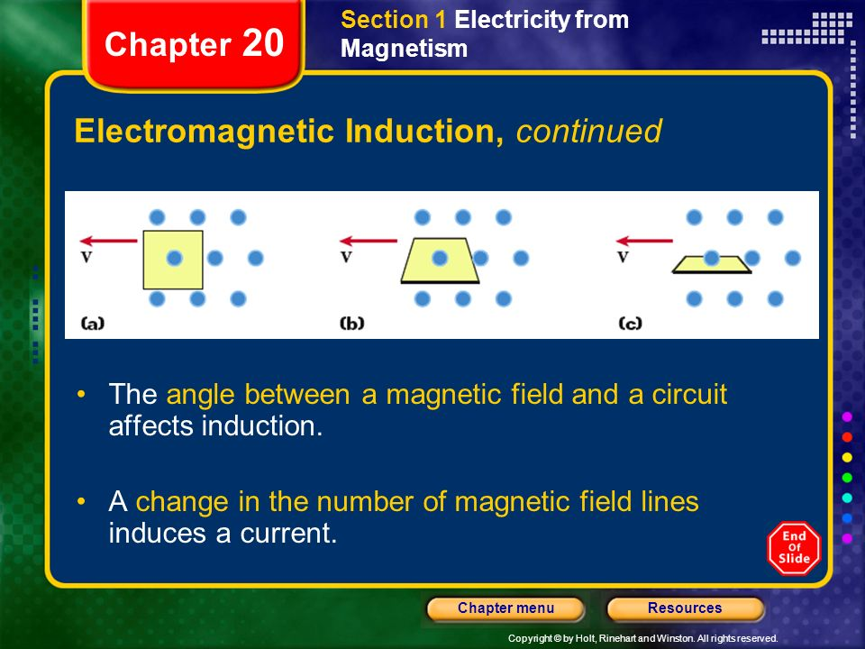 Electromagnetic Induction, continued