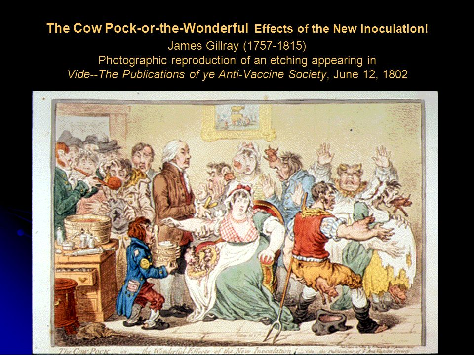 The Cow Pock-or-the-Wonderful Effects of the New Inoculation