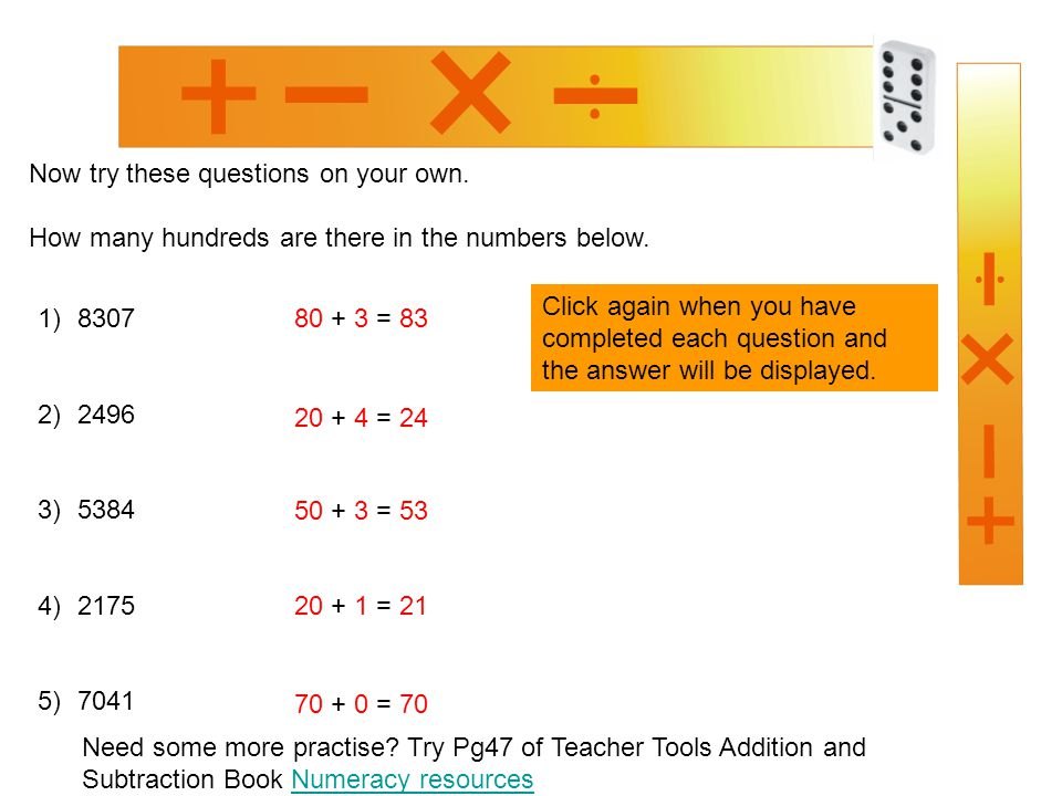 How many tens and hundreds - ppt video online download