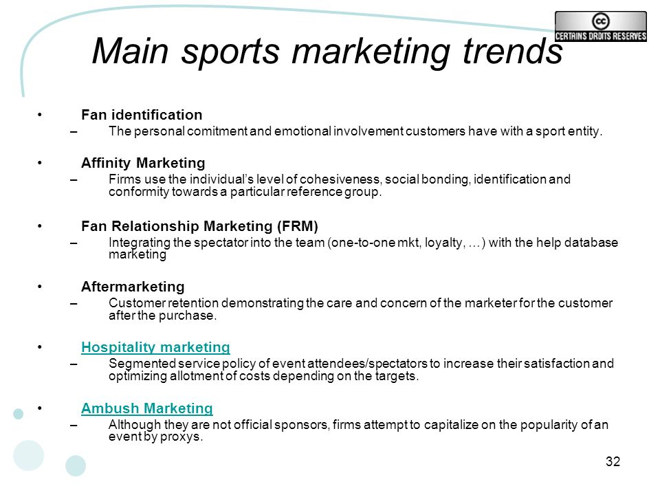 Main sports marketing trends