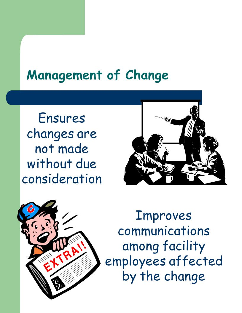 Ensures changes are not made without due consideration
