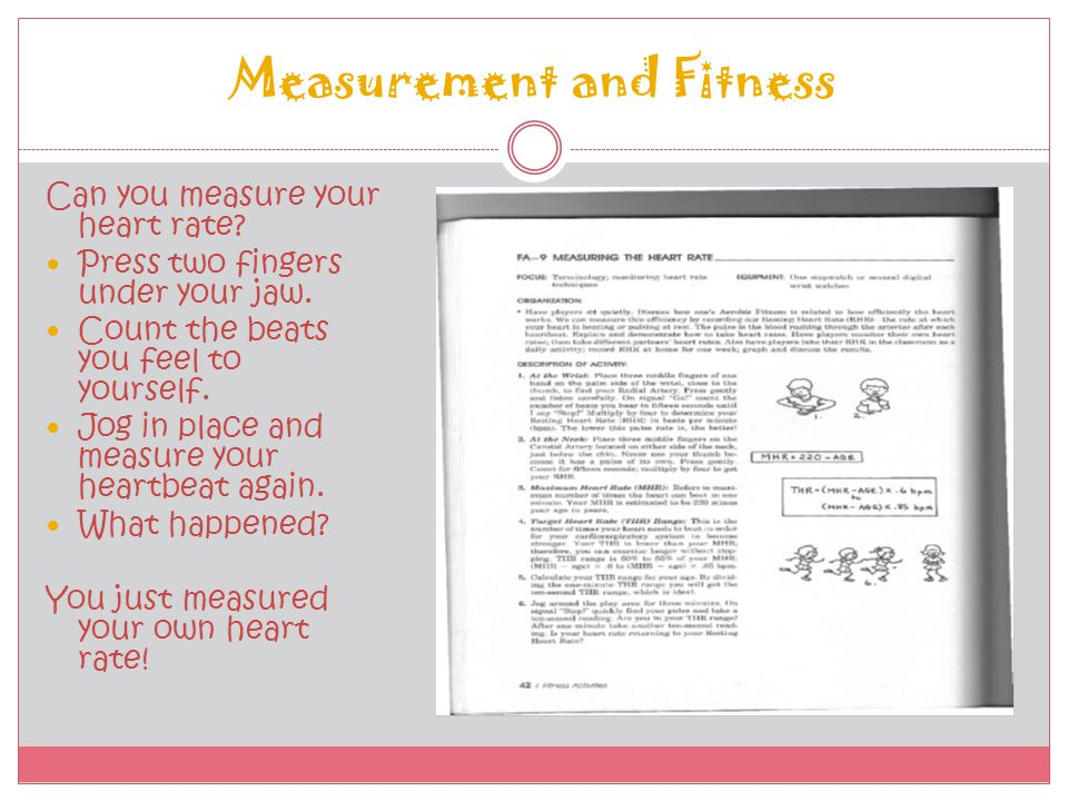 Measurement and Fitness