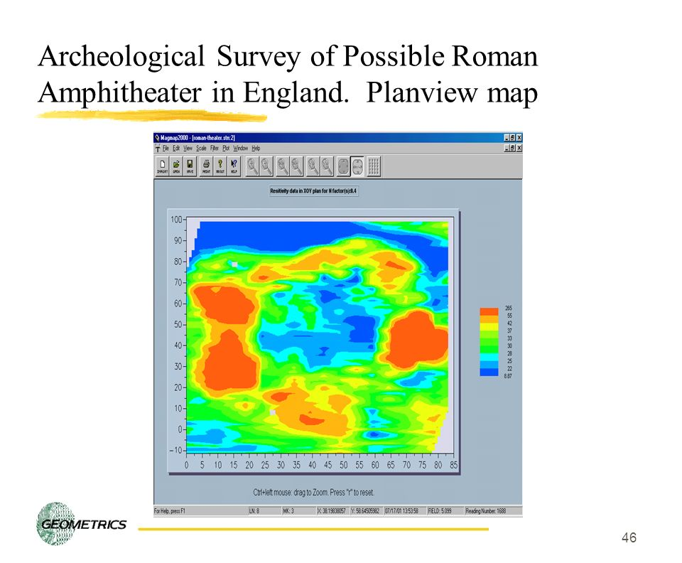 Archeological Survey of Possible Roman Amphitheater in England