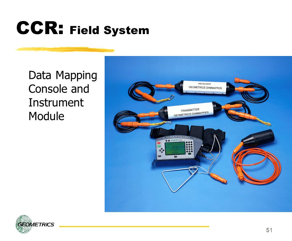 CCR: Field System Data Mapping Console and Instrument Module