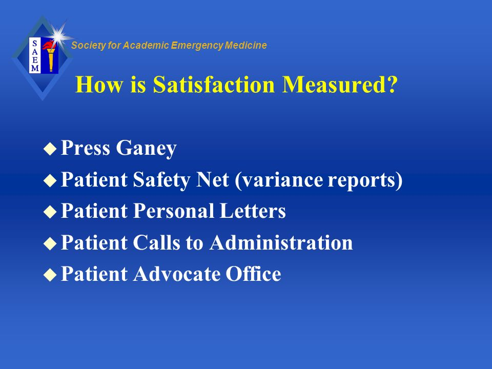 How is Satisfaction Measured