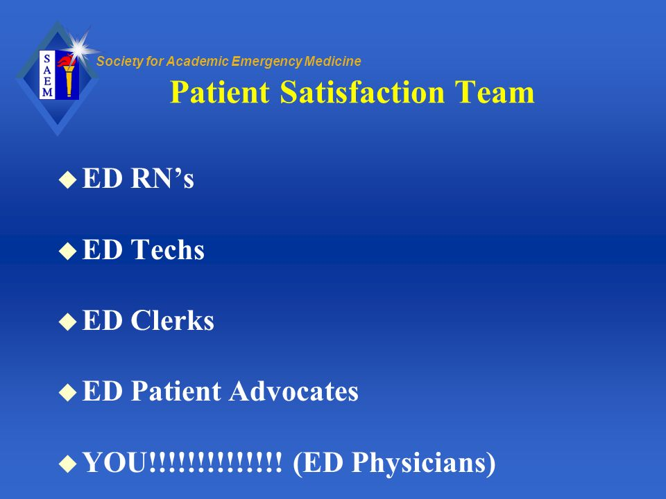 Patient Satisfaction Team