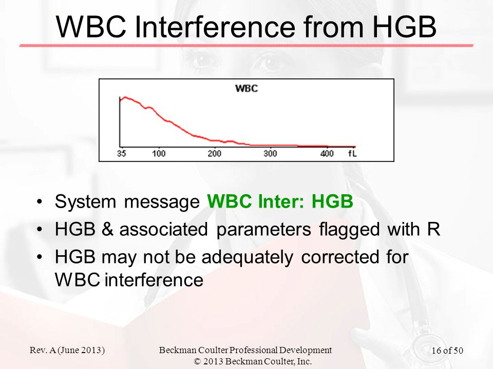 WBC Interference from HGB