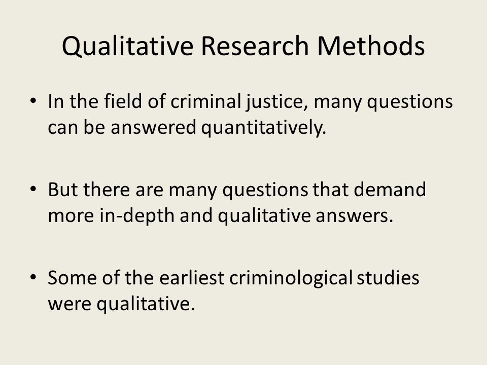 criminology research questions