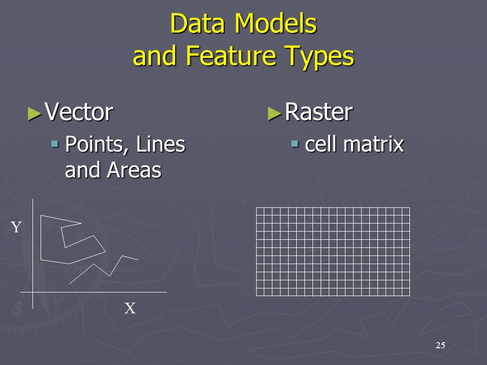 Data Models and Feature Types