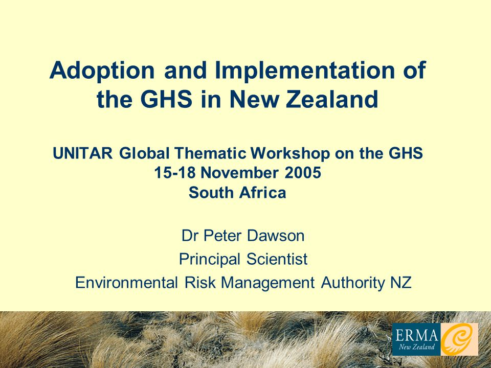 Environmental Risk Management Authority NZ