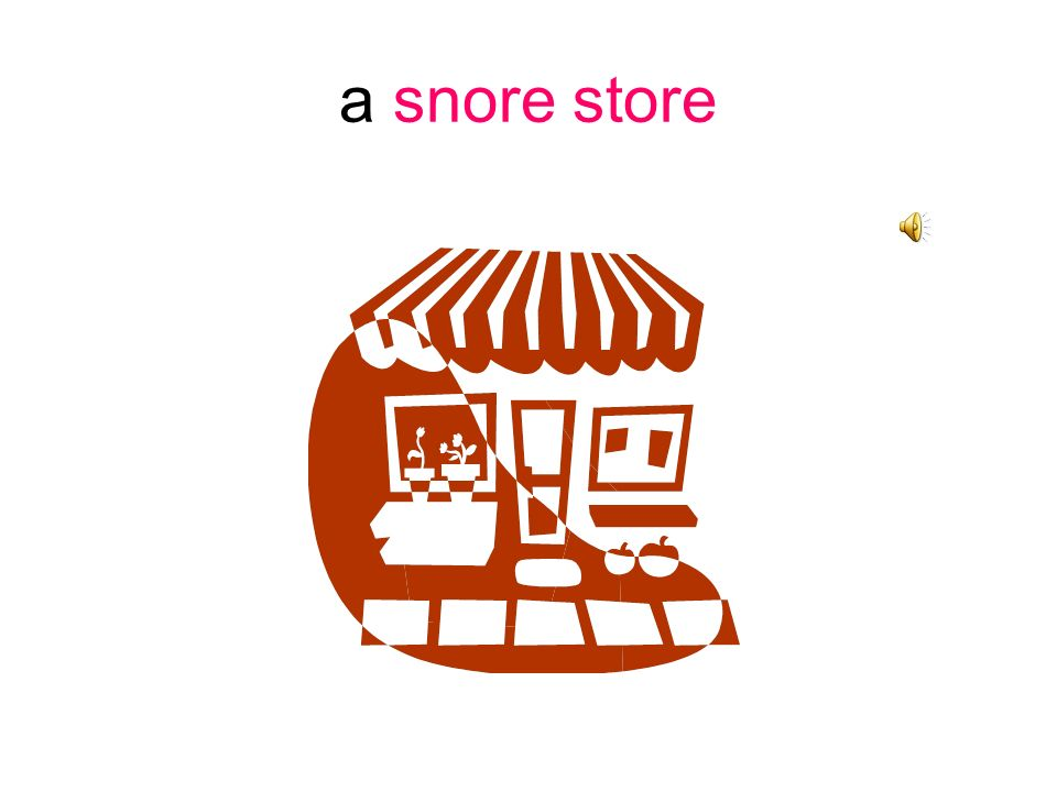 a snore store