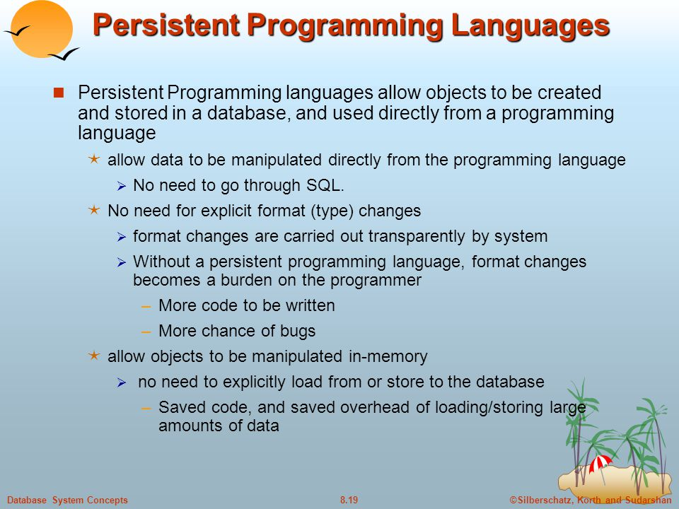 Persistent Programming Languages
