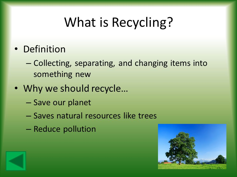 What is Recycling Definition Why we should recycle…