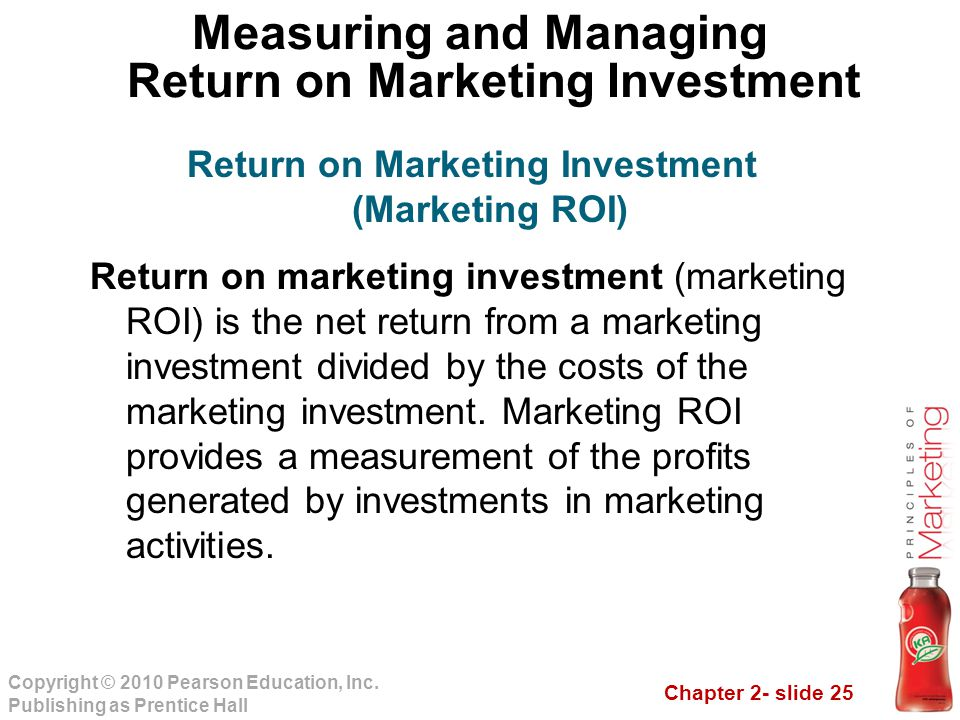 Measuring and Managing Return on Marketing Investment