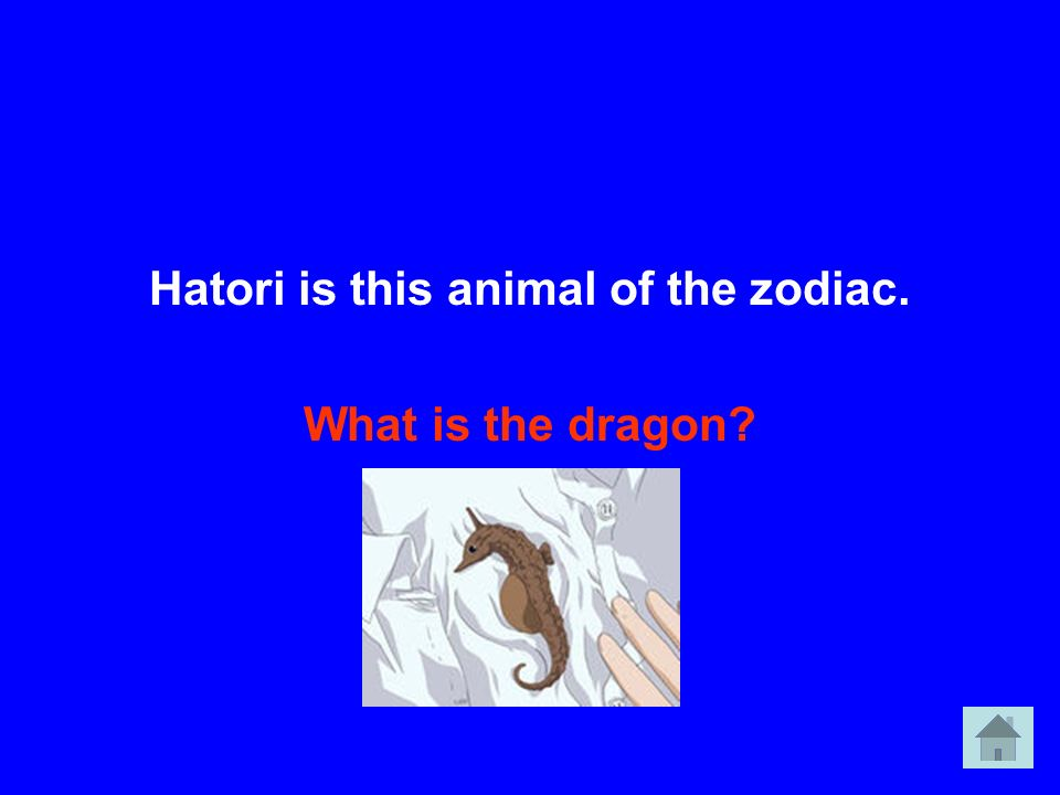 Hatori is this animal of the zodiac.