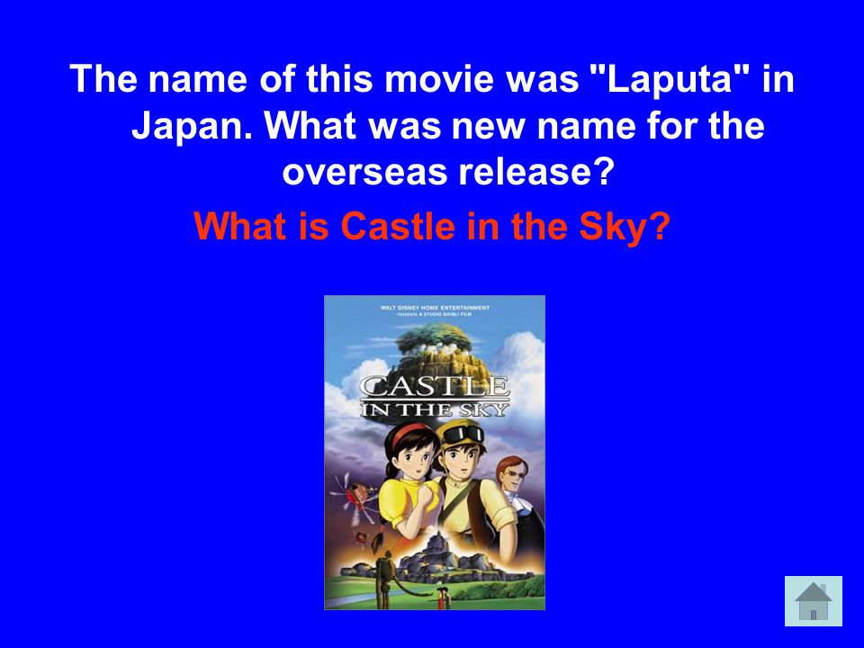 What is Castle in the Sky