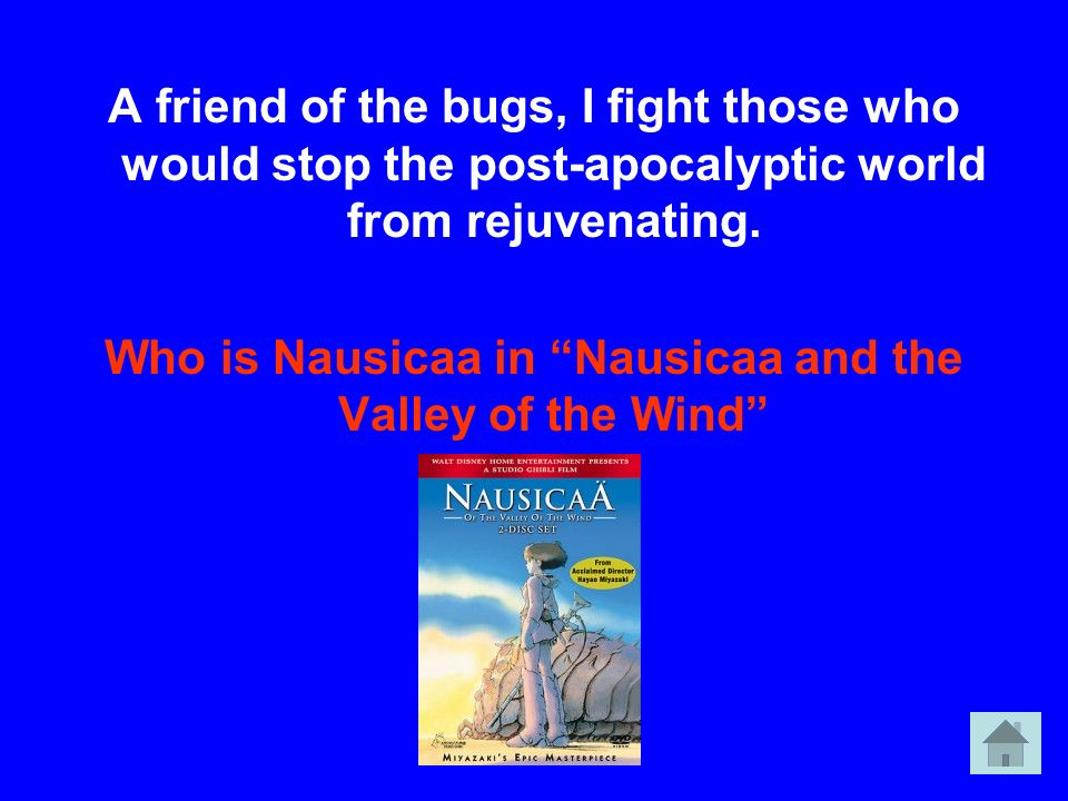 Who is Nausicaa in Nausicaa and the Valley of the Wind