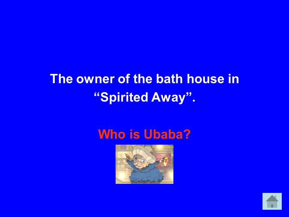 The owner of the bath house in